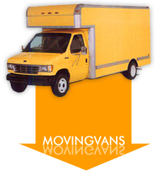 Moving van rental quote for moving service.